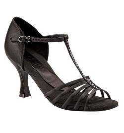"Ladies ""Crystal Danielle"" 2.5"" Latin/Rhythm Ballroom Shoe - Style No BR187R"