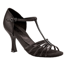 "Ladies ""Crystal Danielle"" 3"" Latin/Rhythm Ballroom Shoe - Style No BR188R"
