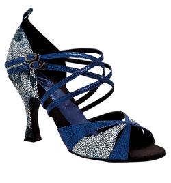 "Ladies ""Leah"" 3"" Latin/Rhythm Ballroom Shoe - Style No br190"