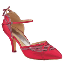 "Ladies ""Alicia"" 2.5"" Smooth Ballroom Shoe - Style No BR201"