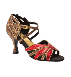 "Ladies ""Jemma"" 2.5"" Latin/Rhythm Ballroom Shoe - Style No BR423"