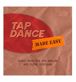 Tap Dance Made Easy Music CD - Style No BRCD-131