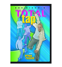 Total Tap with Gregg Russell DVD - Style No BRRBP52DVD