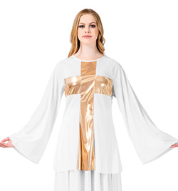 Worship Cross Pullover - Style No BW621