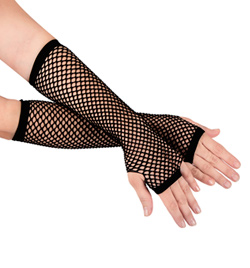 Long Fishnet Gloves - Style No C26992