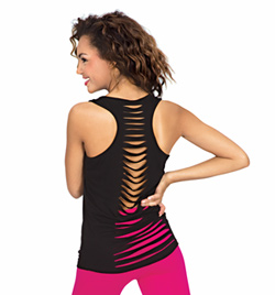 Tank Top with Slit Back - Style No C3444