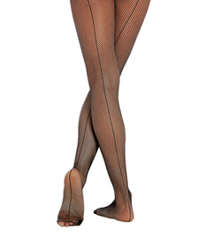 Child Fishnet Seamed Tights - Style No C62