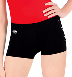 Adult DryTech Jeweled Short - Style No CB503