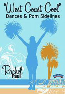 West Coast Cool: Dances & Pom Sidelines DVD - Style No CHD2591B