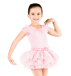 Child Cap Sleeve Tutu Dress - Style No CL8062