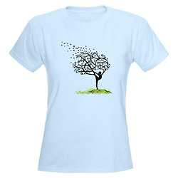 Women Stretching My Limbs T-Shirt - Style No CP718