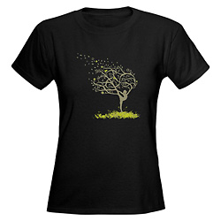 Women Stretching My Limbs T-Shirt - Style No CP719