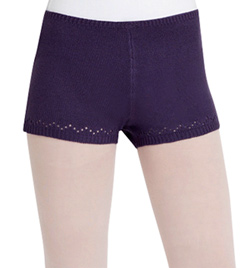 Adult Classic Knits Dance Shorts - Style No CS200