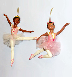 Polyresin Ballerina Ornament - Style No D0237