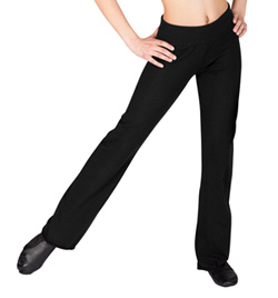 Child Roll Waist Jazz Pant - Style No D1048C