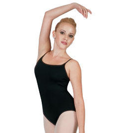 Adult Camisole Leotard with Adjustable Straps - Style No D2066