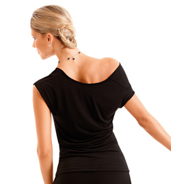 Adult Off Shoulder Top - Style No D386