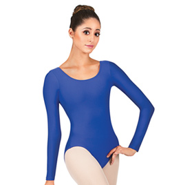 Adult Long Sleeve Leotard - Style No D5103
