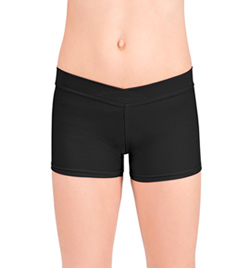 Child V-Waist Dance Shorts - Style No D5104C