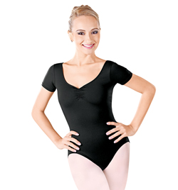 Adult Short Sleeve Leotard - Style No D7758