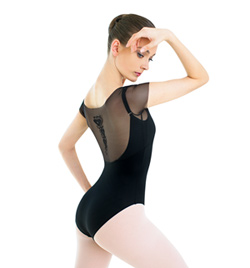 Adult Mesh Short Sleeve Leotard - Style No DA1266M