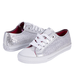 Child Glitter Low Top Sneaker - Style No DISCOG