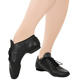 "Child ""E-Series"" Lace Up Jazz Shoe - Style No EJ1C"
