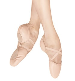 "Adult ""Elastosplit X"" Leather Split-Sole Ballet Slipper - Style No ES0250L"