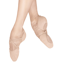 "Adult ""Elastosplit X"" Canvas Split-Sole Ballet Slipper - Style No ES0251L"