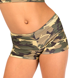 Child Camouflage Dance Short - Style No FD0161C