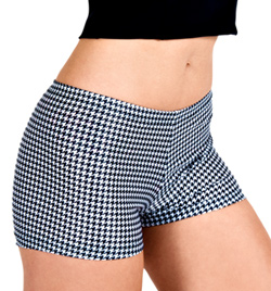 Adult Houndstooth Dance Short - Style No FD0163