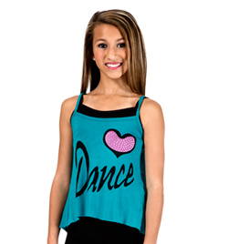 Adult Dance Camisole String Back Top - Style No FD0176