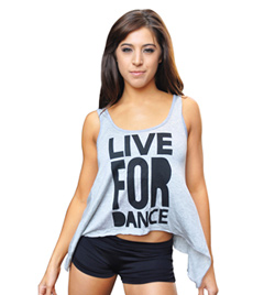 Adult Live For Dance Tank Top - Style No FD102