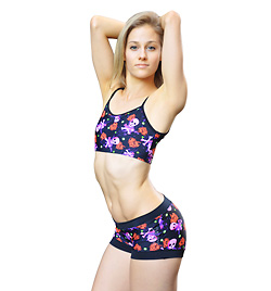 Adult Pirate Heart Banded Short - Style No FD109