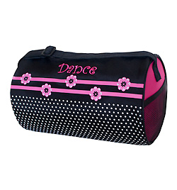 "Flowers n Dots ""Dance"" Duffle Bag - Style No FDT02"
