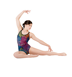 Adult Gymnastic Camisole Leotard - Style No G518