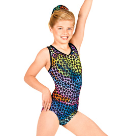 Child Gymnastic Animal Tank Leotard - Style No G538C