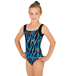 Child Gymnastic Tank Leotard - Style No G540Cx