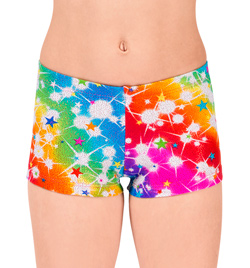 "Child ""Cosmos"" Gymnastic Short - Style No G555C"
