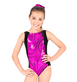 "Child ""Adventurous"" Gymnastic Tank Leotard - Style No G564C"
