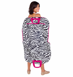 Zebra Printed Garment Bag - Style No GM40