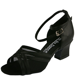 Ladies Cuban Heel Ballroom Shoe - Style No GO710