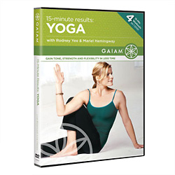 15-Minute Results Yoga DVD - Style No GT0553392