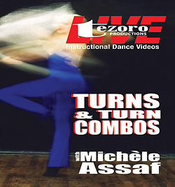 Broadway Dance Center: Turns & Turn Combos with Michele Assaf� DVD - Style No GUPBAY056