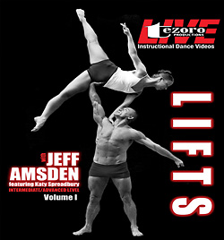 Broadway Dance Center: Lifts Vol. 1 DVD - Style No GUPBAY070