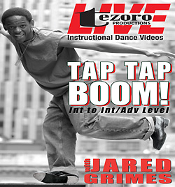 Broadway Dance Center: Tapdance Tap... Tap... BOOM! with Jared Grimes DVD - Style No GUPBAY666
