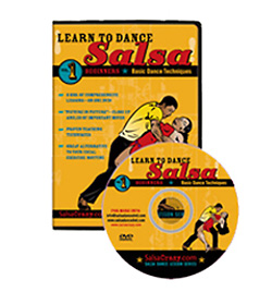 Learn to Dance Salsa for Beginners DVD 3-Vol. Set - Style No GUPBV065SC