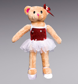 Hollybear Plush Teddy Bear - Style No HOLLYBEAR