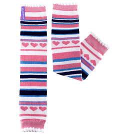 "Ice Princess Stripe 13"" Child Legwarmer - Style No HUG9x"