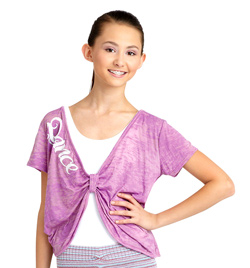 Adult Reversible Pinch Burnout Top - Style No IM227